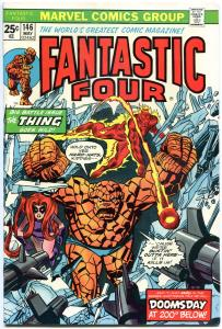 FANTASTIC FOUR #146, VF, Thing goe Wild, Ross Andru, 1961, more FF in store, QXT