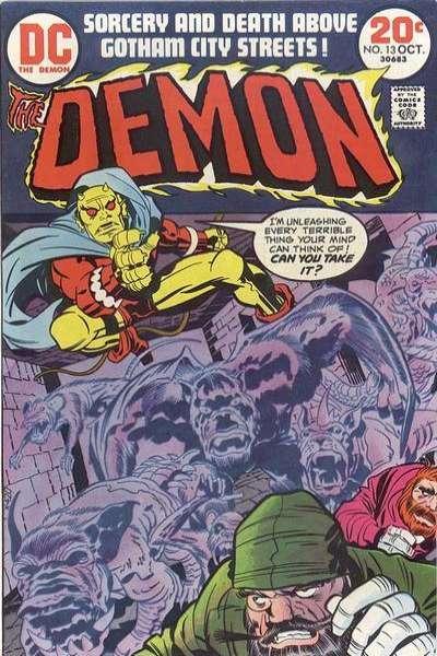 Demon (1972 series) #13, VF+ (Stock photo)