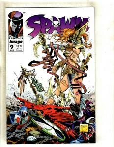 Spawn # 9 NM- 1st Print Image Comic Book Angela Appearance Todd McFarlane RM1