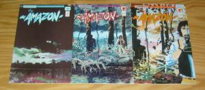 Amazon #1-3 VF/NM complete series - steve seagle - tim sale - comico 1989 2 set