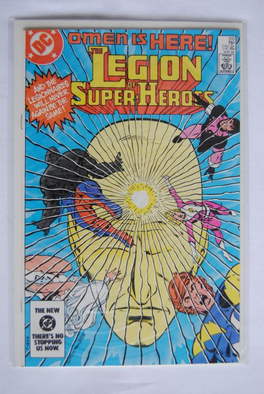 Legion of Super-Heroes 310