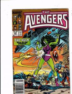 Lot of 2 The Avengers Marvel Comic Books #281 282 BF2