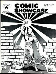 Comic Showcase #2 1969-super heroes-Gem Master origin-Greim-Cosgrove-Catron-FN