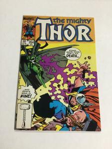 Thor 354 Nm Near Mint Marvel