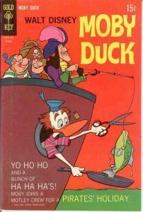MOBY DUCK (1967-1978 GK DISNEY) 5 VF-NM Mar. 1969 COMICS BOOK