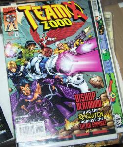 Team X 2000 #1 (Feb 1999, Marvel) bishop+deathbird shi'ar empire  xmen