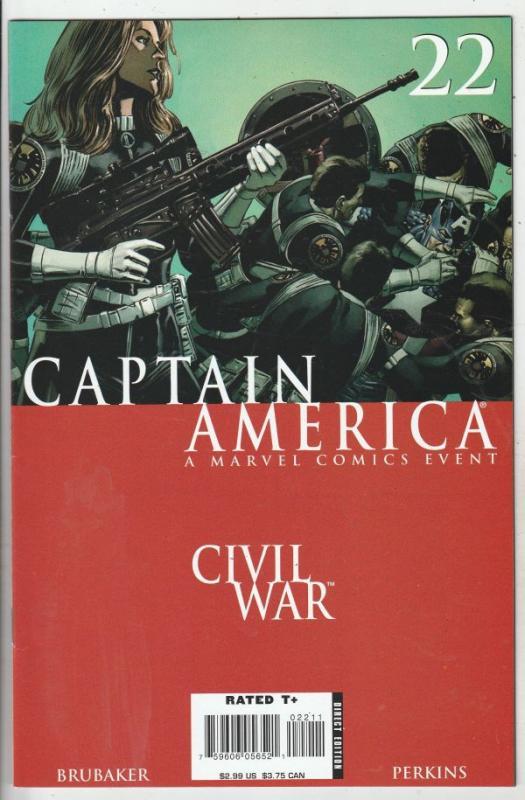 Captain America #22 (Oct-06) NM/NM- High-Grade Captain America
