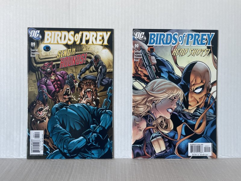 Birds of Prey #89 and 90 (2006) Unlimited Combined Shipping