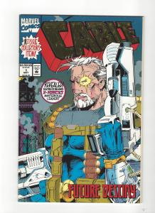 Cable #1 Ongoing Deadpool movie Foil Cover NM