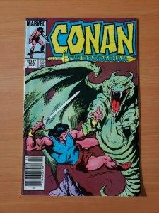 Conan the Barbarian #166 Newsstand Edition ~ NEAR MINT NM ~ 1985 Marvel Comics