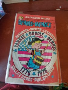 Dennis the Menace Bonus Magazine Series #145 damaged