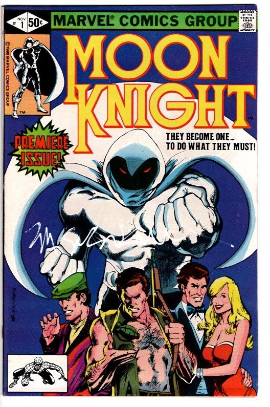MOON KNIGHT #1 SIGNED BILL SIENKIEWICZ NEAR MINT $60.00
