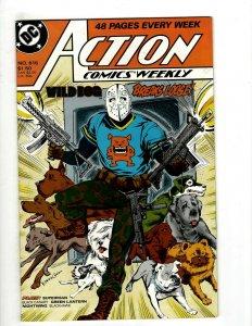 11 Action Comics Weekly DC Comics 615 616 619 620 621 622 624 625 626 1 2 HG3