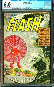 Flash # 110 CGC Graded 6.0 Origin and 1st appearanceof Kid Flash