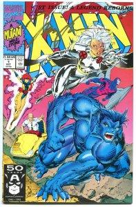 X-MEN 1, NM-, Signed Jim Lee, COA, 1991, unread copy, Wolverine, more in store,