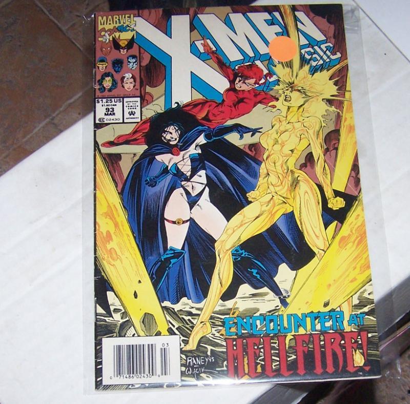 X-Men CLASSICS # 93  MAR 1994  Marvel REPRINTS  UNCANNY X MEN 189  SELENE MAGMA