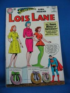 Superman Girl Friend LOIS LANE 51  Fine+ 1964