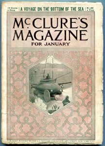 McClures Magazine January 1899- Rudyard Kipling- Voyage to the Bottom of the Sea