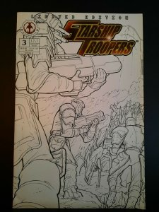 Starship Troopers #3 VF- Limited Sketch Edition Variant 2006 Markosia 1st print