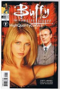 BUFFY the VAMPIRE SLAYER #53, NM+, Photo cv, Joss Whedon, 1998, more in store
