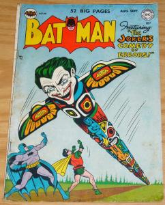 Batman #66 GD/VG september 1951 - joker's great boners of history - 52 pages