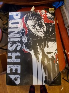 Punisher wooden wall art