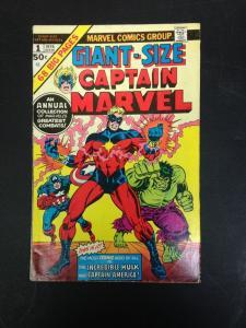 Giant Size Captain marvel 1 VG-/VG