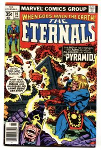 THE ETERNALS #19-1st Zuran-JACK KIRBY-MARVEL 1977-comic book VF/NM