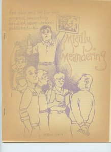 Mistily Meandering #29 (July 1969) Spectator Amateur Press Society Fanzine!