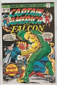 Captain America #188 (Aug-75) VF/NM High-Grade Captain America