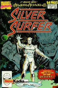 Silver Surfer (1987 series) Annual #2, VF+ (Stock photo)