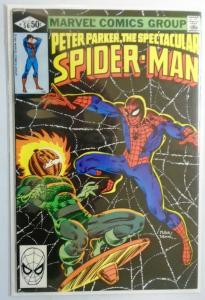 Spectacular Spider-Man (1st Series) #56, Direct Edition 6.0/FN (1981)