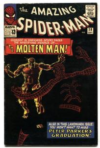 Amazing Spider-Man #28 Marvel Silver Age comic book 1st MOLTEN MAN 1965