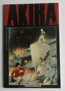 Akira #32 NM High Grade 1st Print Epic Comics Katsuhiro Otomo 1992 Rare HTF