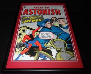 Tales to Astonish #35 Ant Man Framed 12x18 Cover Poster Display Official Repro