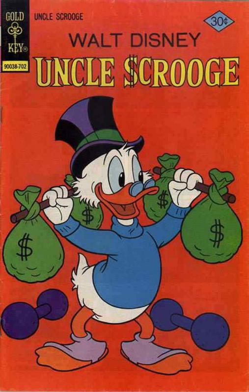 Uncle Scrooge (Walt Disney…) #137 FN; Gold Key | combined shipping available - d