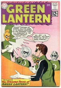 Green Lantern  #11 1962- DC Silver Age- Gil Kane art FN