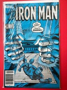 IRON MAN V1 #180 1983 MARVEL / NEWSSTAND / MID-GRADE QUALITY+