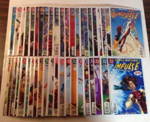 Impulse 1-39 45 Annual 1-2 Double Shot 43 Book Near Mint Lot Set Run