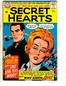 Secret Hearts # 109 FN DC Comic Book Romance Love Relationship Teens JL17