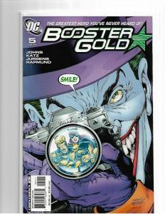 BOOSTER GOLD #5 - NM - CLASSIC COVER HOMAGE BATMAN THE KILLING JOKE - JOKER KEY