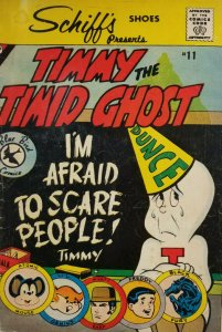 Timmy The Timid Ghost #11 1961 Schiff's Shoes Promo Comic Blue Bird Pub - VG/VG-