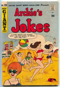 Archie Giant Series #139 1966-- Archie Jokes Swimsuit cover VG