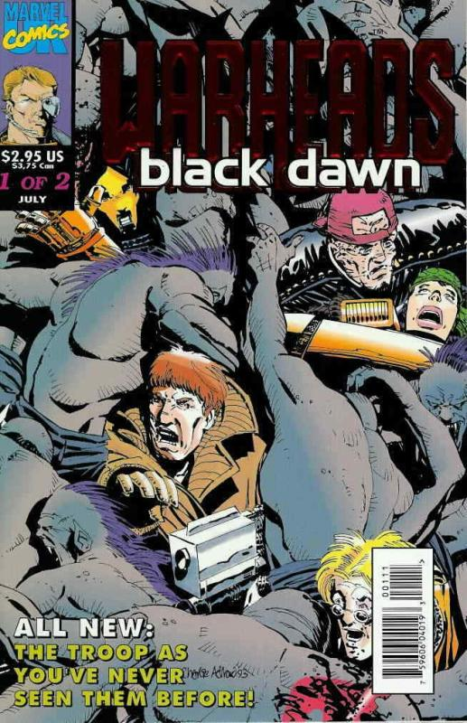 Warheads: Black Dawn #1 VF/NM; Marvel UK | save on shipping - details inside