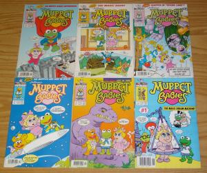 Jim Henson's Muppet Babies #1-6 VF complete series - harvey comics - newsstand