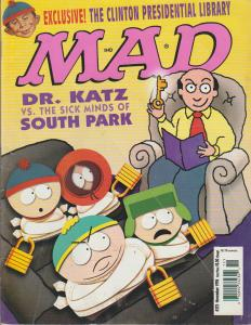 MAD MAGAZINE #375 - HUMOR COMIC MAGAZINE