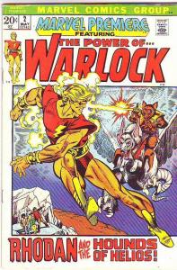 Warlock, the Power of  #2 (May-72) FN/VF Mid-High-Grade Warlock