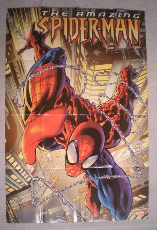 AMAZING SPIDERMAN Promo Poster, 24x36, 2004, Unused, more Promos in store