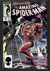 Amazing Spider-Man #293 NM 9.4 Kraven's Last Hunt Part 2!