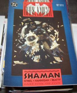 Batman -Legends of the Dark Knight #5 (Mar 1990, DC) shaman pt 5